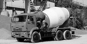 Доставка бетона миксерами
