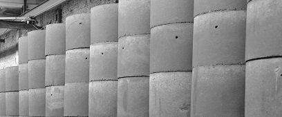 Бетонные кольца литые с крышкой КСП 15-9