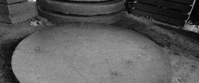 Бетонная плита днища колодца ПН 15