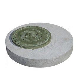 Крышка бетонная с люком ППЛ
